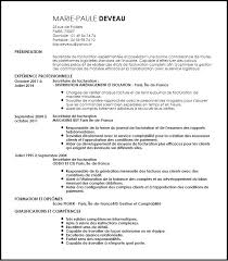 bureau v駻itas formation model de bureau secretaire modele de cv secretaire de facturation