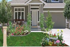 appealing inexpensive front yard landscaping ideas images on a