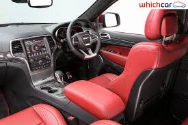 white jeep red interior 2018 jeep grand cherokee review
