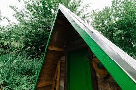 portland a frame cabin camping
