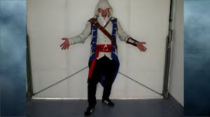 assasins creed halloween costume connor costume from assassins creed 3 youtube