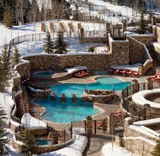 pool area st regis deer valley resort pool area and decks