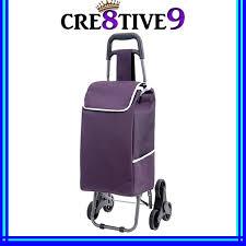 jm plc portable pasar trolley bag with stair climbing wheel