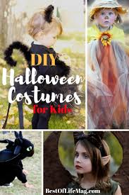 diy halloween costumes for kids the best of life magazine
