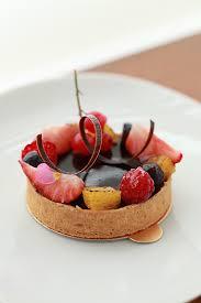 chocolate ganache tart patisserie r plating presentation