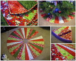 quilt inspiration free pattern day tree skirts