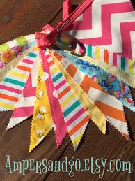 bubblegum banner birthday party decor candy bright pennant flag