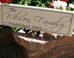 personalized wedding plaque personalized family name sign last name sign by itsasignanddesigns