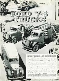 Vintage Ford Truck Ads - surf shop sedan delivery on padre island