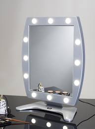 Table Vanity Mirror With Lights The Original Lighted Makeup Mirror By Cantoni