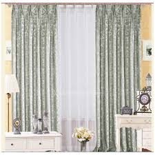 Patterned Window Curtains Pattern Window Curtains Modern Minimalist Country Style Leaf