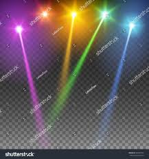 special light effects realistic vector bright stock vector