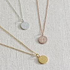 Cheap Personalized Necklaces Best 25 Monogram Necklace Silver Ideas On Pinterest Monogram