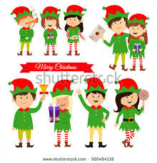 christmas elves christmas stock images royalty free images vectors