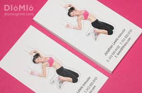 Fitness Business Card Template Fitness For Summer Diomioprint