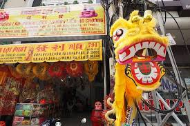lion costumes for sale lion costumes on sale picture of chinatown cho lon