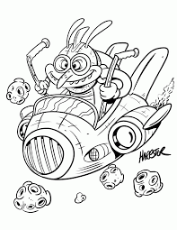 space coloring sheet coloring
