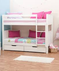 Buy Stompa Classic Kids White Bunk Bed With  Underbed Drawers - Mattress for bunk beds for kids