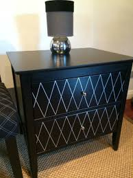 white bedside table wooden commode bedroom furniture nightstand bedside cabinets side tables black silver timber pair deco hollywood regency aud of create your