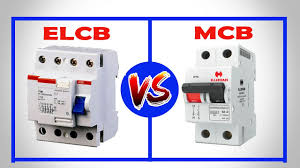 elcb vs mcb difference between elcb and mcb youtube