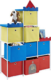 amazon com altra furniture 9 bin kids storage unit with castle