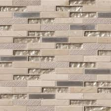 stoneplash tile vienna blend brick xx mm glass and mosaic living