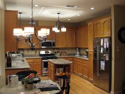 kitchen fluorescent lighting ideas ideas traditional kitchen design with oak kitchen cabinets with