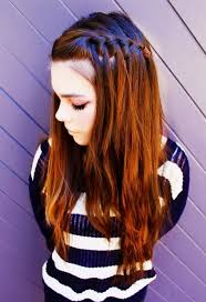 tutorial rambut waterfall waterfall braid hairstyles red waterfall braid hairstyles weekly