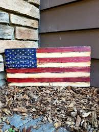 wooden american flag wall the 25 best rustic wooden american flag ideas on
