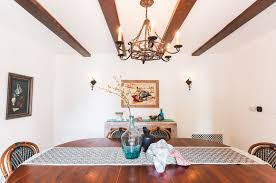 Spanish Style Dining Room Furniture A Renovated Spanish Style Home Is Infused With Color Home Tour