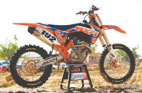 motocross action magazine up close u0026 personal with jody u0027s ktm 350sxf