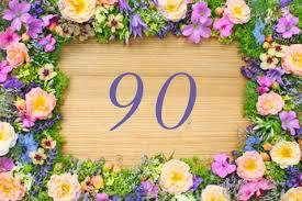 90 geburtstag sprüche einladung zum 90 geburtstag schöne einladung geburtstag 90