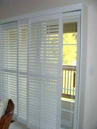 Bypass Shutters For Patio Doors Plantation Shutters For Sliding Door Islademargarita Info