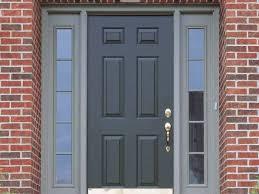 door best front door color for orange brick house cool home
