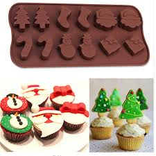 online shop silicone lace cake molds snowman christmas tree wand