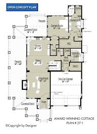 house plans 1 award winning cottage house plans by garrell associates inc