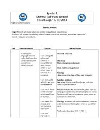 spanish 2 grammar saber and conocer 10 6 through 10 10 2014