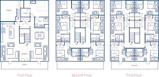 12 bedroom house plans avenues ii 4 bedroom flat collegeplacefsu com