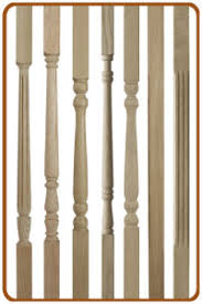 Wooden Stair Banisters Stair Spindles And Stair Balusters Trade Prices