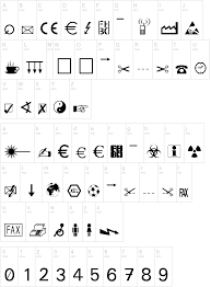 Glyph Symbol - the symbol