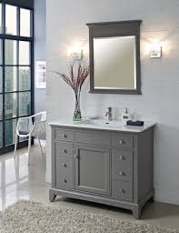 mesmerizing gray vanity to enhance the beauty of bathroom meigenn