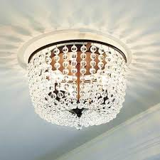 Crystal Ceiling Mount Light Fixture by 12 Beautiful Flush Mount Ceiling Lights Tidbits U0026twine