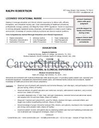 Sample Perioperative Nurse Resume Lvn Resumes Resume For Your Job Application