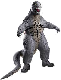 Scary Halloween Costumes For Kids Scary Inflatable Godzilla Kids Costume Costume Craze