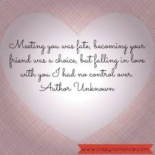Love Quotes For A Friend by When Friends Fall In Love