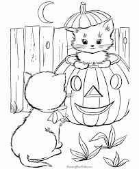 free printable halloween coloring pages kids pics coloring