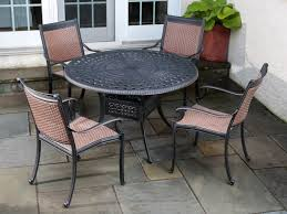 5 Pc Patio Dining Set - patio 12 outdoor patio dining sets aluminum outdoor furniture