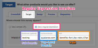 regex pattern website url the regular expression interface qualaroo