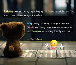 Wedding Quotes Tagalog Bob Ong Love Quotes And Sayings Boy Banat