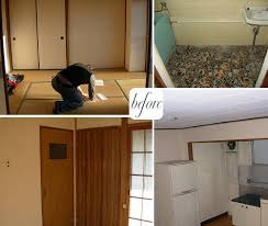 Before  After Tokyo Mansion Apartment  DesignSponge - Japanese apartment interior design